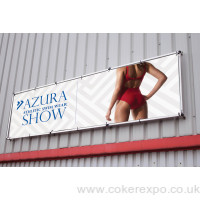 Monsoon wall mounted banner frame