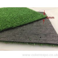 Grass flooring for exhibitions