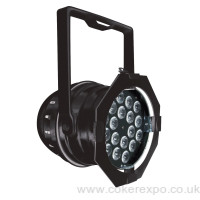 colour change lighting Par64 in black