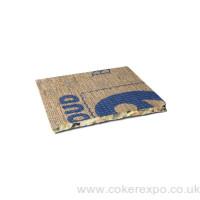 Foam underlay for exhibition carpet