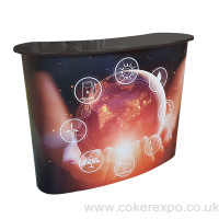 Coker Expo CEDH Pop Up display counter
