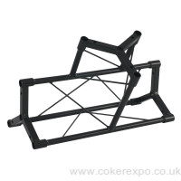 Lighting Truss T Piece Black Steel