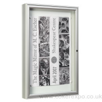 Wall Mounted notice board lockable outdoor