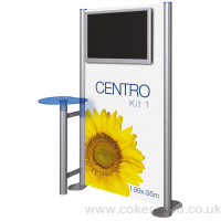 Display stand with Lcd screens