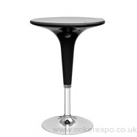 Black  ABS plastic Poseur Exhibition Table