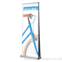 Double sided Excaliber 2 Pull up roller banner