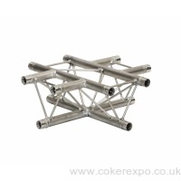 S35 Lighting Truss 4 way cross
