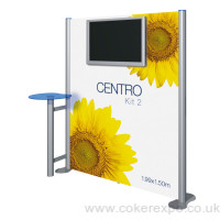 Audio Visual Display Wall Centro Kit 2 with branding