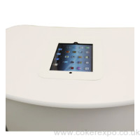 Ipad Holder - set into counter tops.