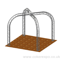 Gantry lighting truss
