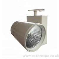 27.5 watt Led spot light for lighting track