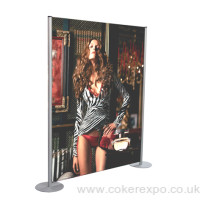 Back drop banner display - 1000mm