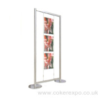 Wire display kit free standing