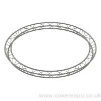 Aerial lighting truss 3m diameter circle, Trio.