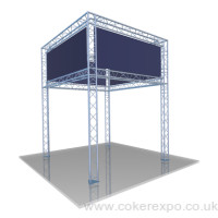 2 Tier Lighting Gantry design