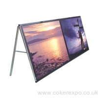 Monsoon PVC banner display frame work