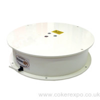 Motorised display turntable for 200kg loads