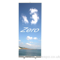 Banner stand The Zero is 850mm wide 2 M high