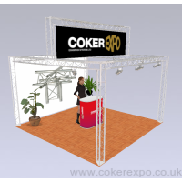Exhibition Gantry Hire Up An Over