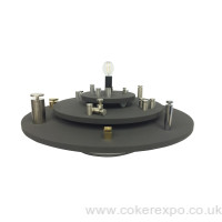 Triple deck display turntable