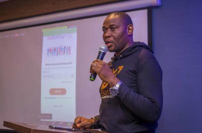 Obi Ezenwugo taking us through the nooks and crannies of the BantuPay app.