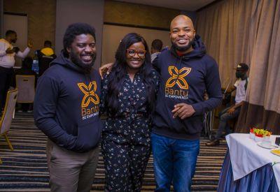 Catch the DevOps experts. (L-R, Samuel Longshak, Uche Mukolo DevOps Manager, and Ric Richards).