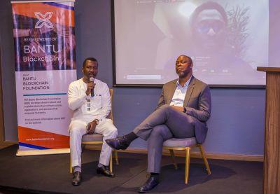Onsite panelists for Q&A session. Ernest Mbenkum and Snr Advisor - Mike Ogbalu III (CEO - Verve International).