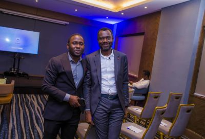 L - Bankole Adeate from Governance & Execution, and Abubakar Suleiman.