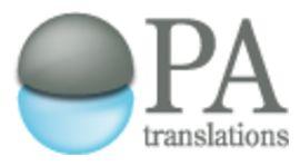 PA Translations