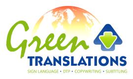 Green Translations