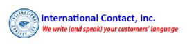 International Contact