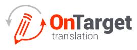 On Target Translation