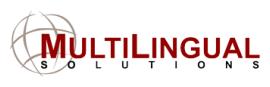 MultiLingual Solutions