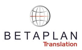Betaplan Translation logo