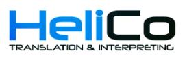 HeliCo Translation logo