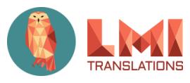 LMI Translations Ltd. / Language Master logo