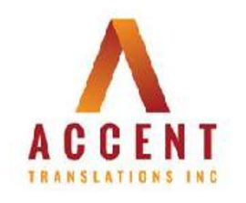 Accent Translations Inc. logo