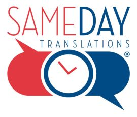 Same Day Translations, LLC / Aaron Alder logo