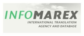 InfoMarex Translations logo