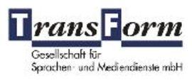 TransForm Gesellsch. f. Sprachen- u. Mediendienste logo