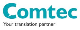 Comtec Translations logo