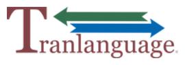 Tranlanguage Inc. / Diego Rodriguez logo