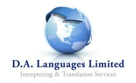 D.A Languages Ltd. logo