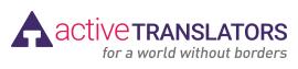 Active Translators logo