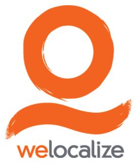 Welocalize (formerly GLS Global Language Solutions) logo