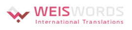 Weis Words International Translations Ltd / Weisgras and Co.  logo