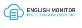 English Monitor logo