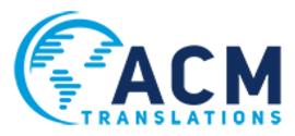 ACM Translations / Formerly Eurologos-Thessaloniki logo