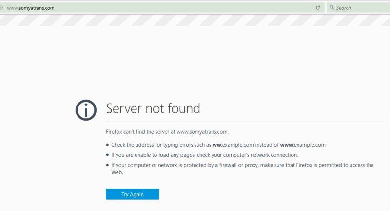 somya_website Firefox