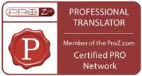 ProZ logotipo